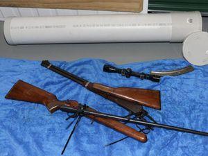 PHOTOS: Gladstone raid linked to global gun sting