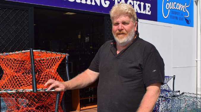 DOORS ARE OPEN: Coucom's Crab Pots and Fishing Gear owner Alan Coucom is excited to officially open his new store in Yeppoon this weekend.