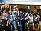 YEEHA: Livingstone Shire Council members get into Beef Australia 2015 spirit to raise money.