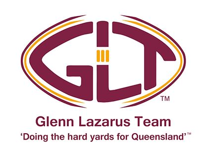 The Glenn Lazarus Team logo