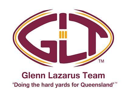 The Glenn Lazarus Team logo