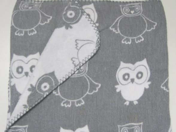 Big W is recalling their Peter Morrissey Nursery Blanket - Grey Owl.