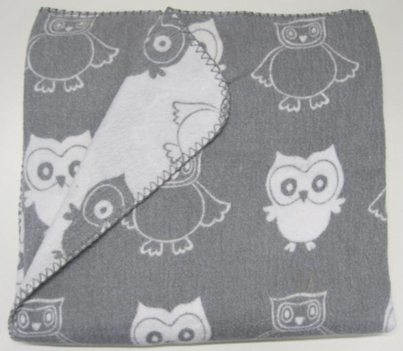 Big W is recalling their Peter Morrissey Nursery Blanket - Grey Owl.
