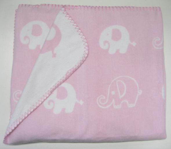 Big W is recalling their Peter Morrissey Nursery Blanket - Pink Elephant.