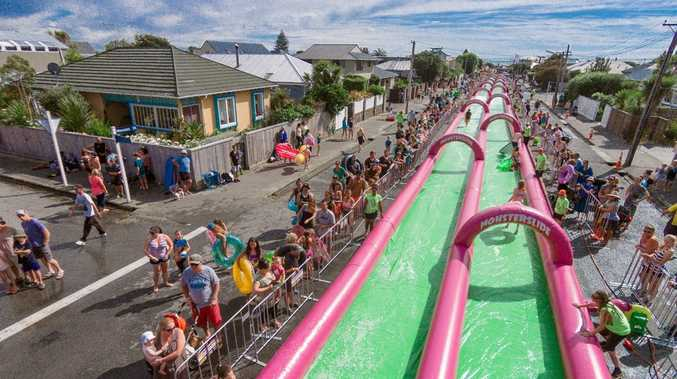 The Monster Slide event was planned for Caloundra in May.