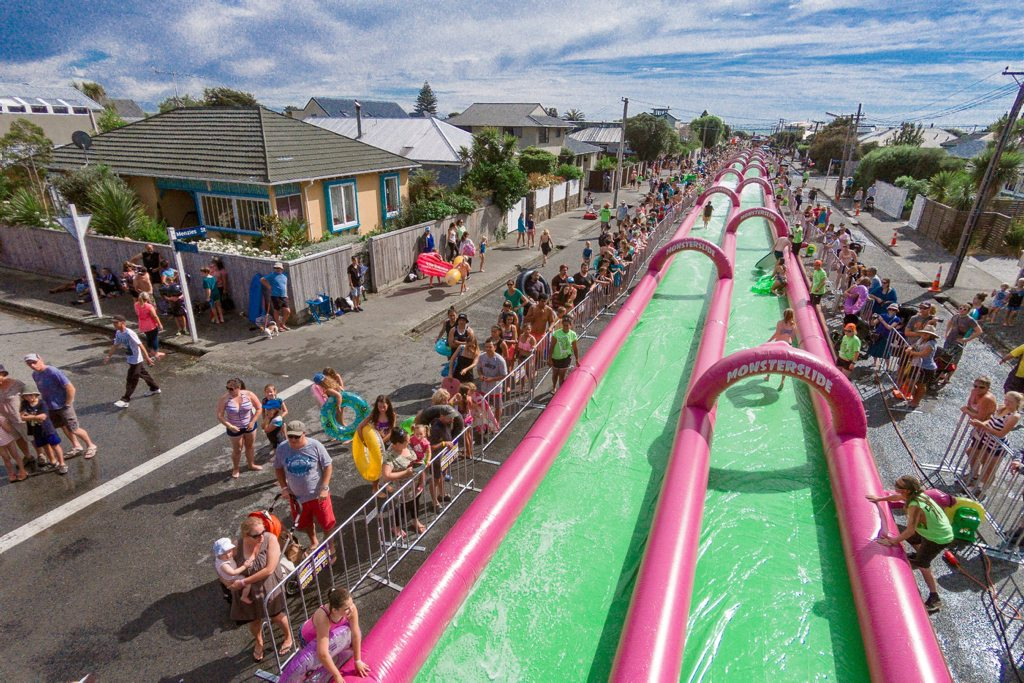 Monster Slide is coming to Burgess St, Caloundra.