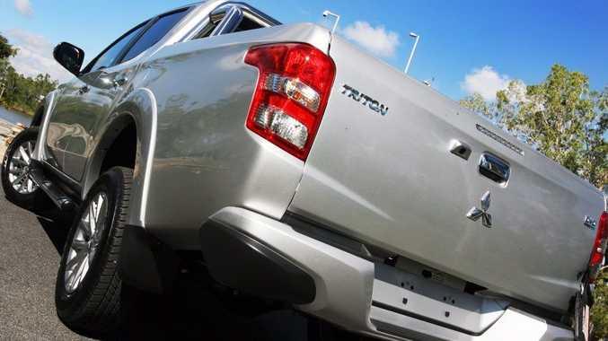 All new Mitsubishi Triton GLS, exclusive to Tropical Auto Group. Photo Tamara MacKenzie / The Morning Bulletin
