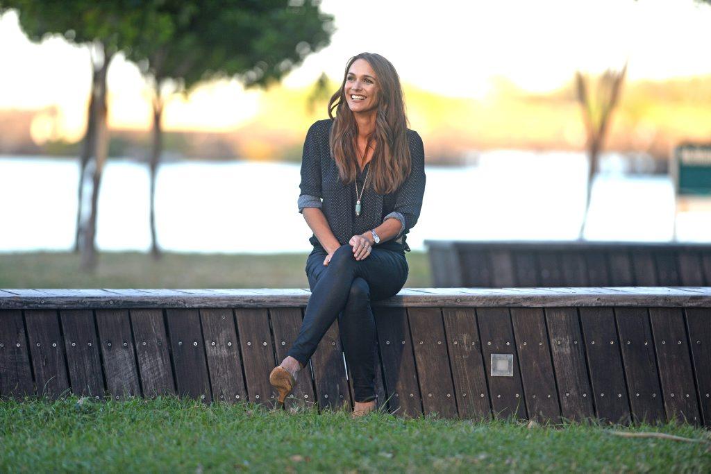 Natalie Gruzlewski at Jack Evans Boat harbour. Photo: John Gass / Tweed Daily News