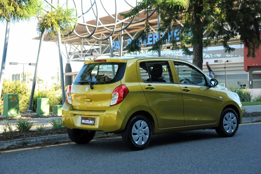 SURPRISINGLY GOOD: Suzuki's tiny Celerio won us over.