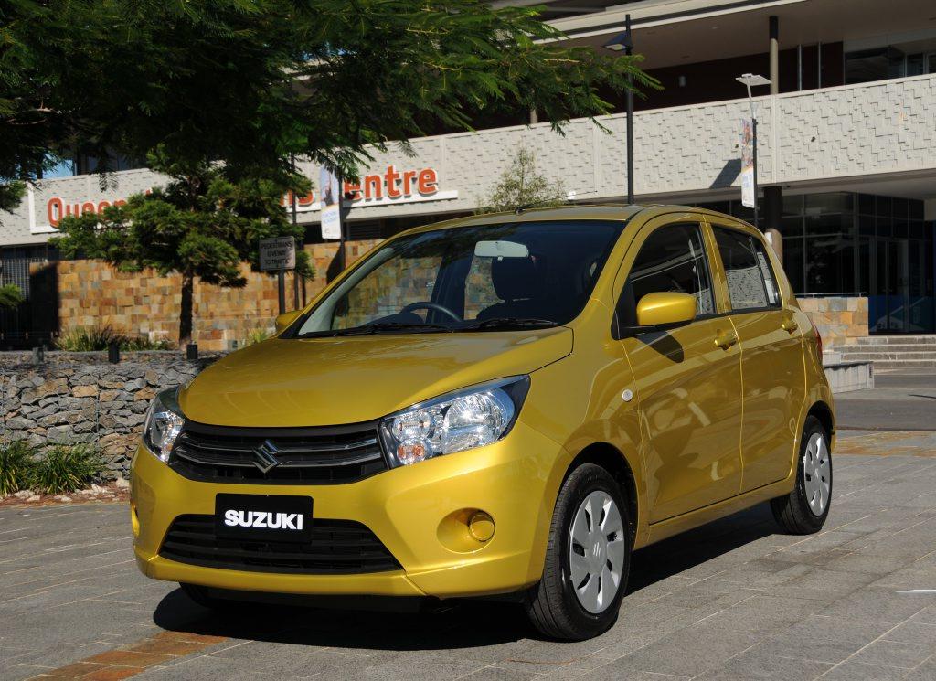 The 2015 Suzuki Celerio.