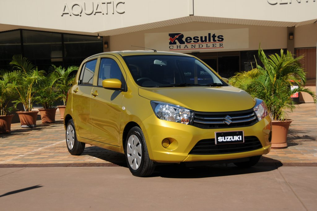 The 2015 Suzuki Celerio.