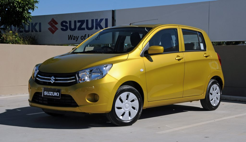 The new Suzuki Celerio replaces the Alto.