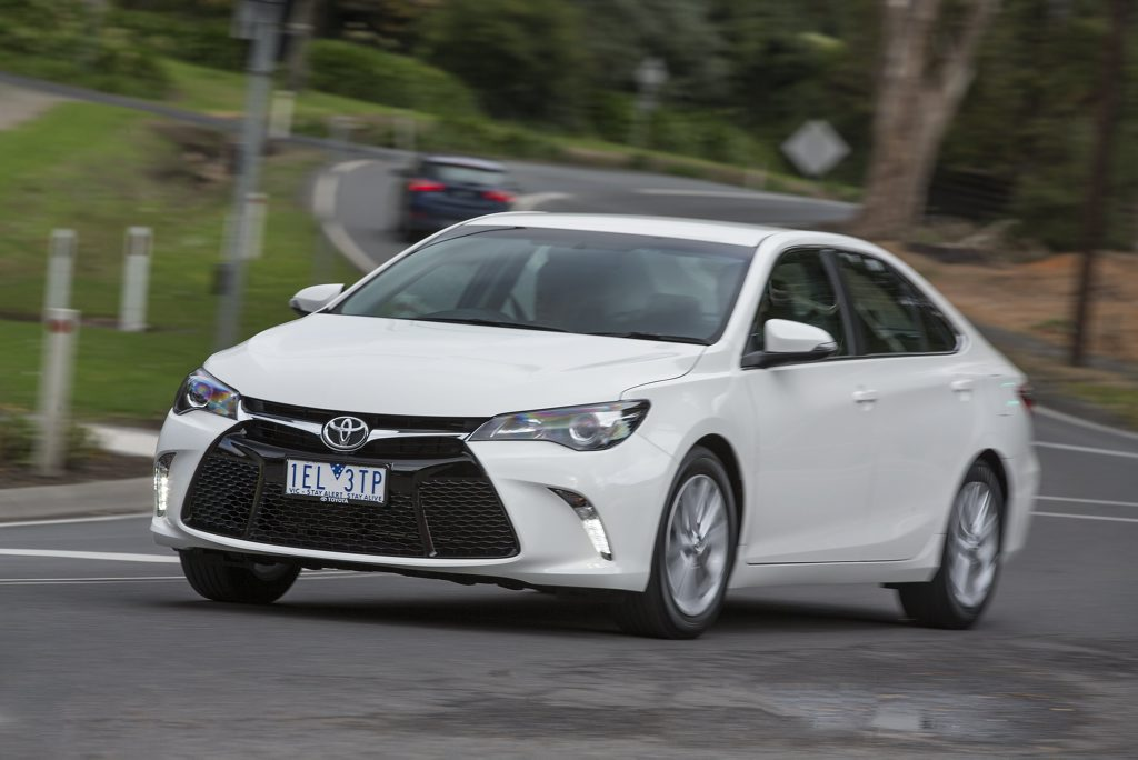 Toyota has launched the new Camry.