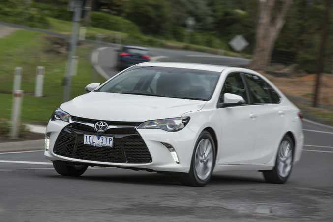 FLEET FAVOURITE: Camry has been Australia's best-selling mid-size car for 22 years in a row. 27,654 were sold in 2015, and was the best selling car in Australia in December.