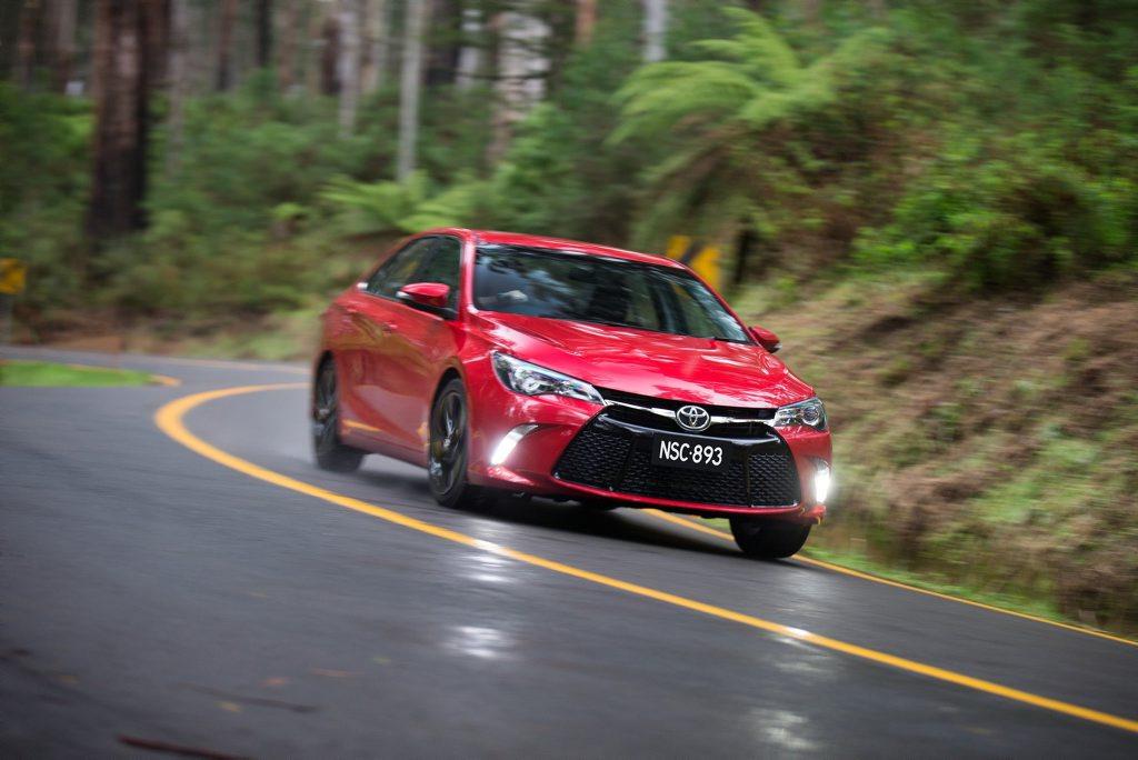 The 2015 Toyota Camry Atara SX.