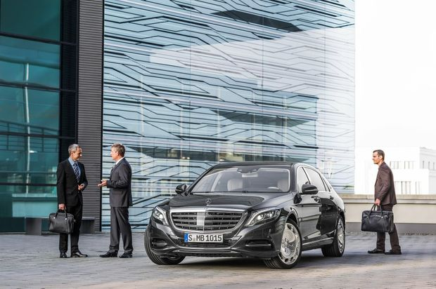 The Mercedes-Maybach S 600.