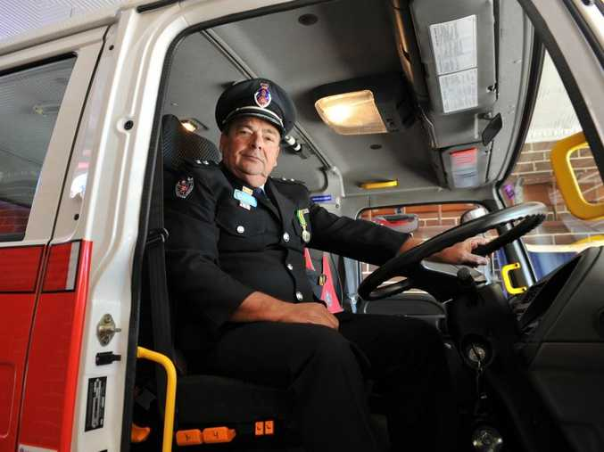 FINE HONOUR: Former Bellingen Fire and Rescue Captain Andre Van Hoeck has been recognised with the prestigious Australian Fire Service Medal.