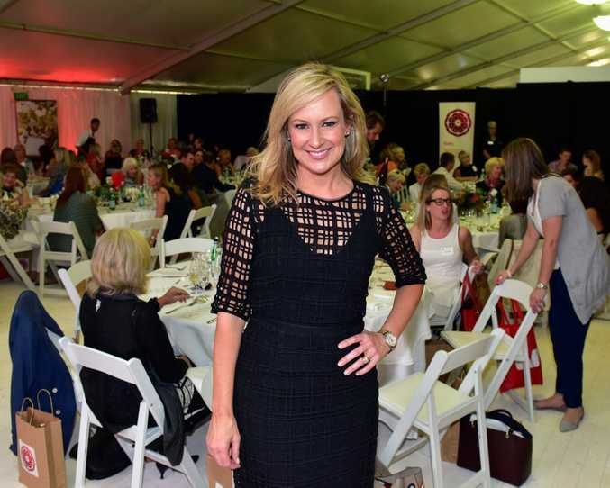 Channel 7 News Presenter Melissa Doyle at the Noosa Food and Wine Festival. Photo Geoff Potter / Noosa News