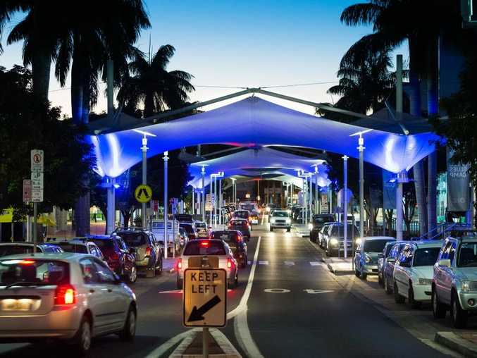 Coffs Harbour turns Blue for tomorrow's arrival of the reigning State of Origin champions