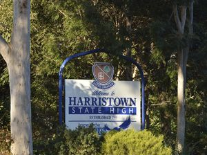 Harristown State High School evacuated after alleged bomb threat
