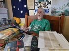 Hoping for a medical marijuana trial is 73 yr old Reggie Ricketts who has to contend with the pain associated with prostate cancer. Photo: Alistair Brightman / Fraser Coast Chronicle