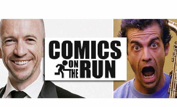 STAND-UP GUYS: Gary Eck and Gary Bradbury will feaure at Comics on the Run.