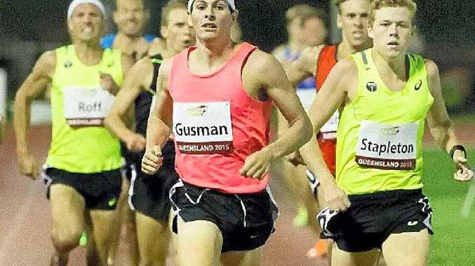LEADING THE WAY: Corindi athlete Jordan Gusman is ranked fourth in Australia for the 1500m.