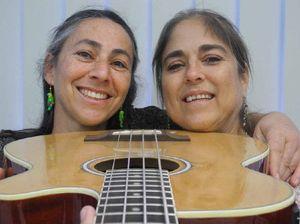 Karina Dunn and Elizabeth Tasker jamming
