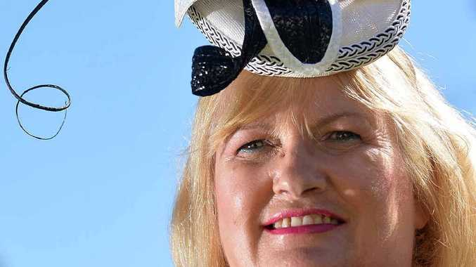 FASHION STATEMENT: Caren Lee's millinery designs will feature in the Sunshine Coast Fashion Festival.