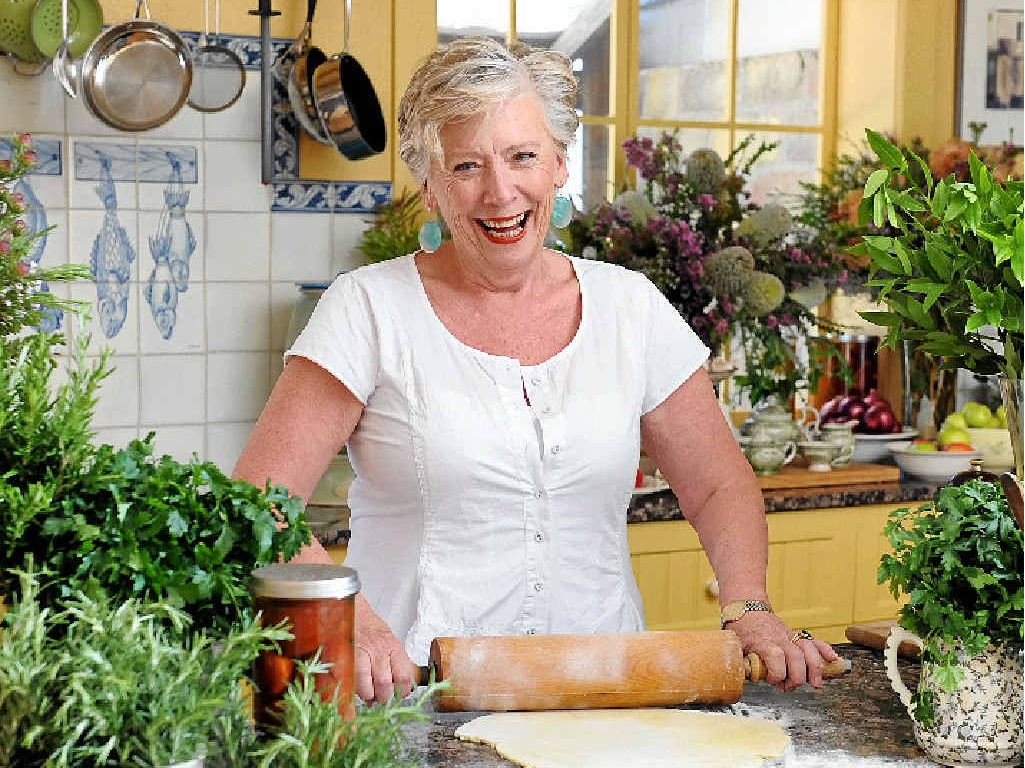Maggie Beer is a judge on Foxtels new season of The Great Australian Bake Off.