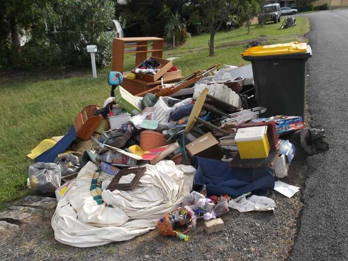 An individual can face a fine of $2,000 for illegally dumped waste and the fine can go up to $4,000 if the dumped rubbish contains asbestos.