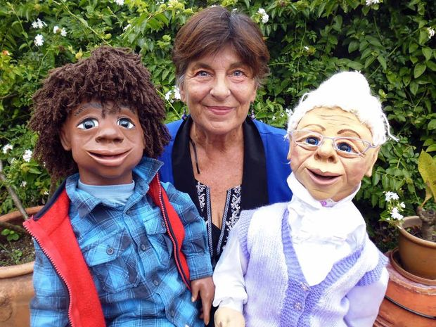 CREATING CHARACTERS: Ocean Shores puppet therapist Shelley Moses will be holding a puppet-making workshop next month. She was taught by Muppets and Sesame Street creator Jim Henson.