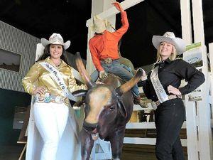 Australian Rodeo Queen visits Rose City