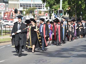 USQ Graduation Parade
