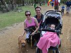 About 300 people and their pooches took part in the Million Paws Walk at Rigarlsford Park.