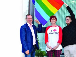 Region raises the flag for gay rights