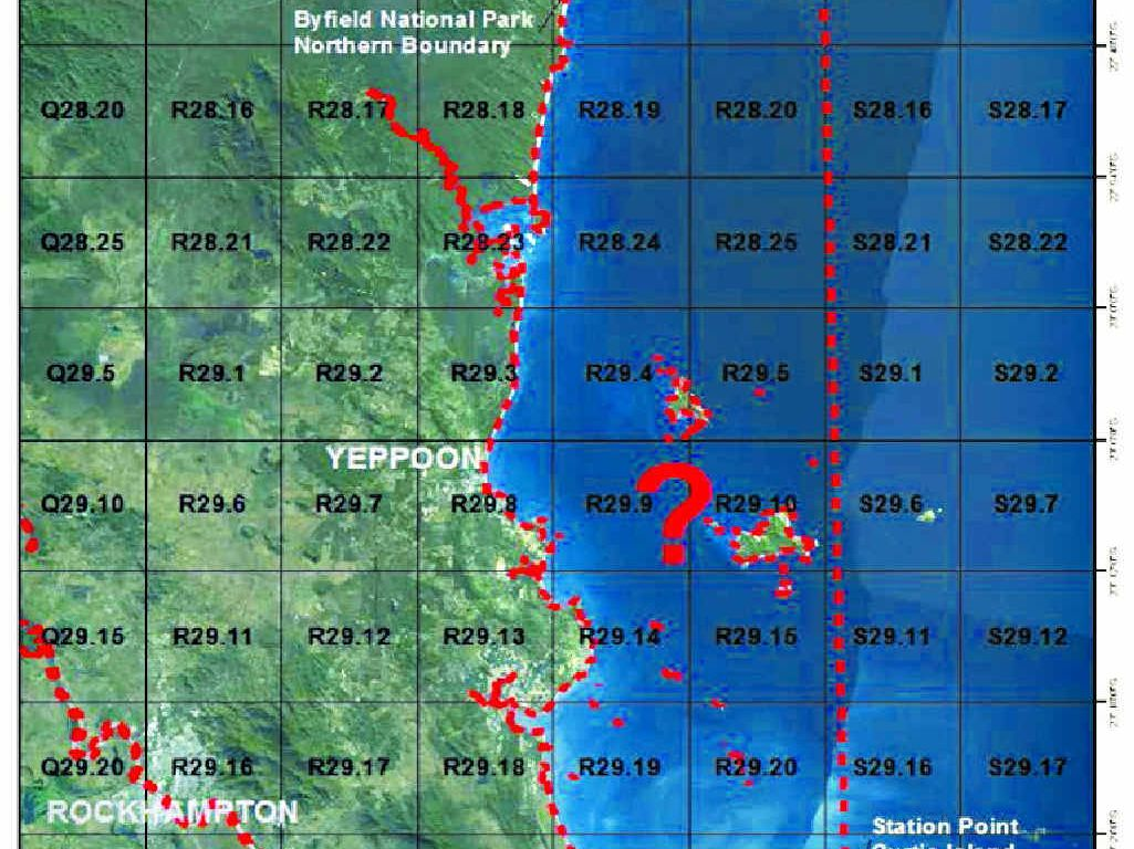 NET-FREE: A proposed map of the future net-free zone in the Yeppoon/Rockhampton area.