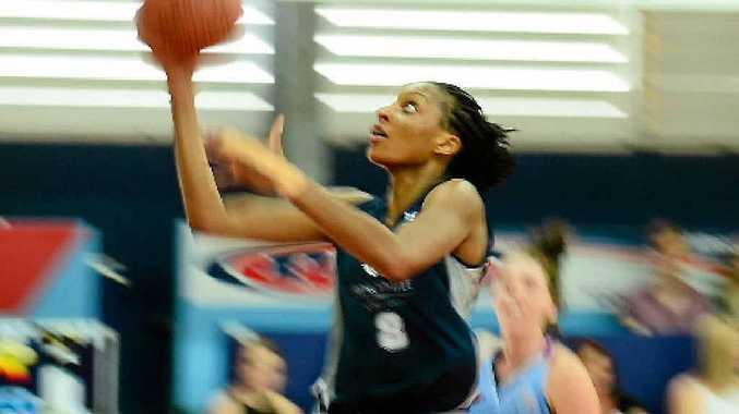 STAR IMPORT: Rockhampton Cyclones new-recruit Nicole Michael.