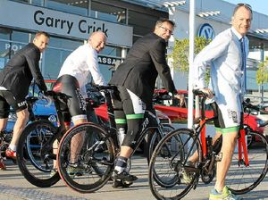 Business leaders to ride 100km for children's charity