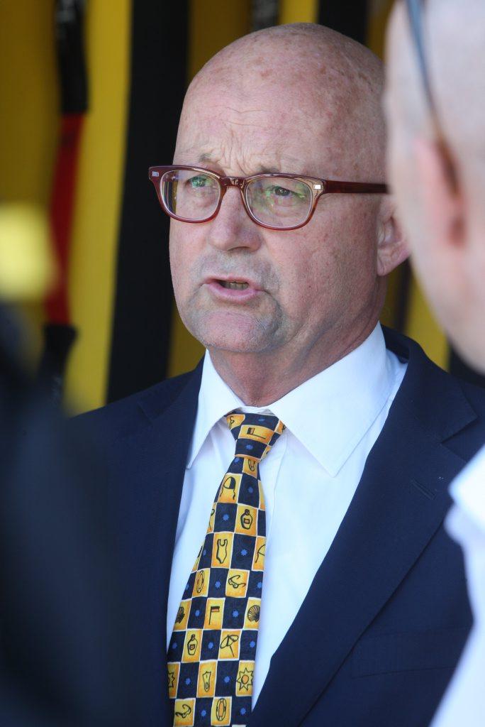 Ralph Devlin SC, SLSQ President Photo: Kari Bourne / Sunshine Coast Daily