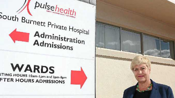 PULSE LOST: Pulse Health CEO Phillipa Blakey understands the closure of the private hospital will be a blow to the community.