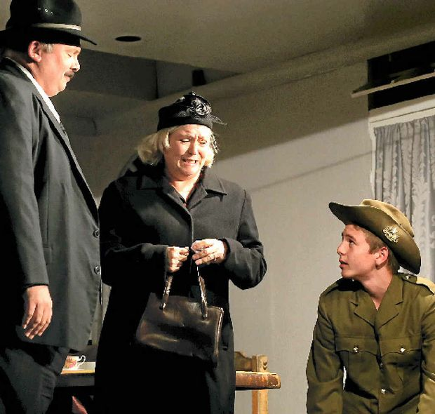 HEART WRENCHING: The first of two one-act plays explores the personal side of service in the military.