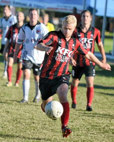 BANKS IS BACK: Eamon Banks returns for Alstonville tonight against Richmond Rovers.