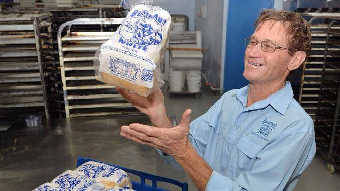 Marlene McGuire's business partner Peter Grant from Bushman's Bread.