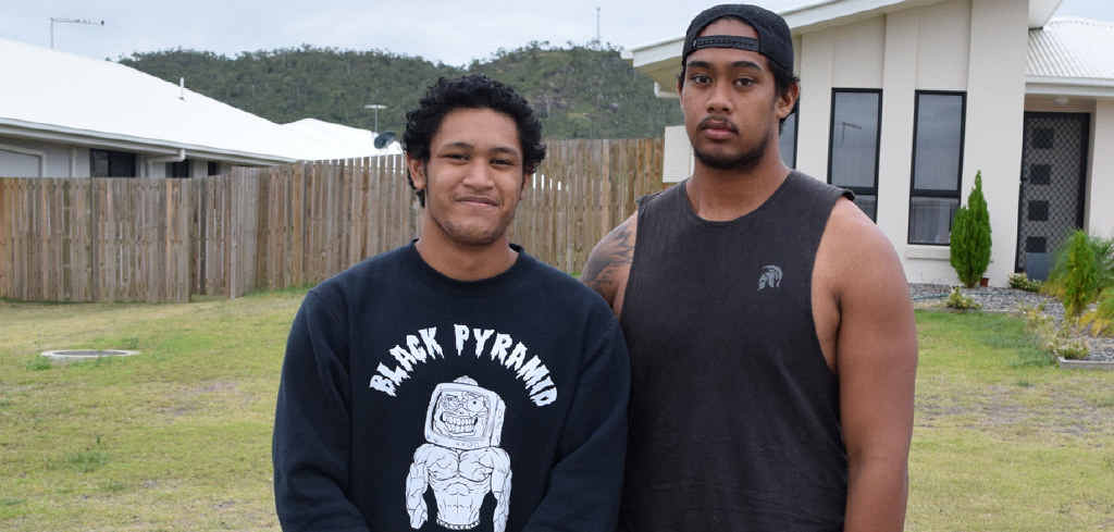 FAMILY APOLOGY: Anittelea and William Tiaaleaiga speak out about the Anzac Day footy brawl.