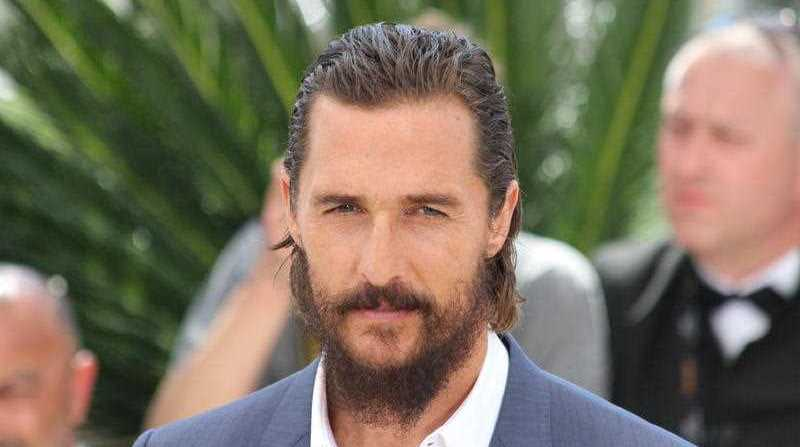 US actor Matthew McConaughey poses during a photocall for the film The Sea of Trees at the 68th Cannes Film Festival in Cannes, southeastern France, on May 16, 2015.