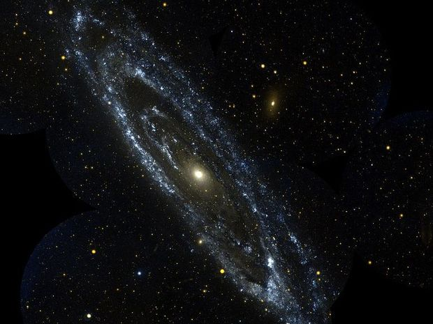 The Andromeda Galaxy courtesy of NASA