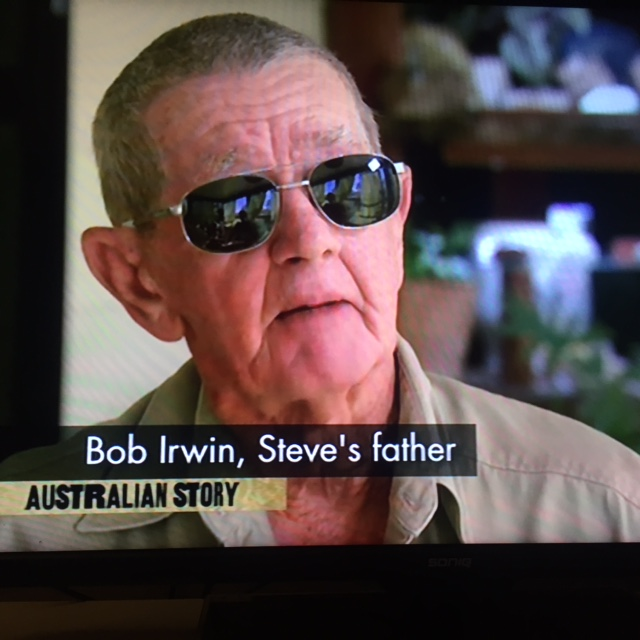 Bob Irwin speaks of losing Steve on Australian Story.