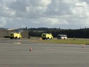 Emergency exercise at Ballina Airport