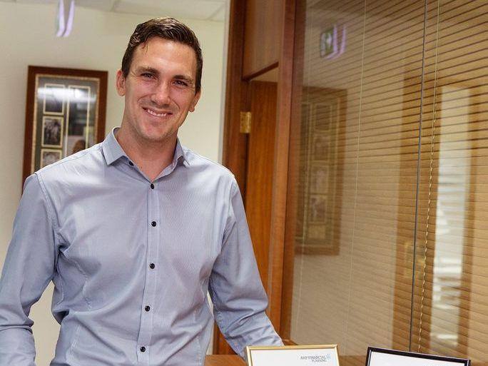 AMP New Advisor Award winner Scott Baker is Director at Mobs Baker Wealth in Birtinya.